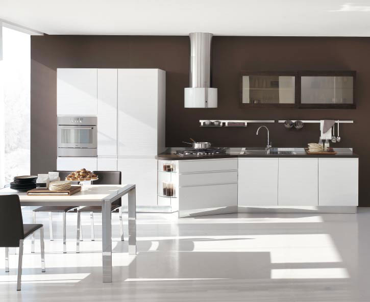 Italian kitchen designs with white cabinets become very for Kitchen cupboard designs
