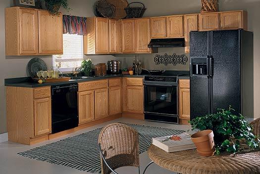 Oak Kitchen cabinets for your Interior kitchen minimalist modern