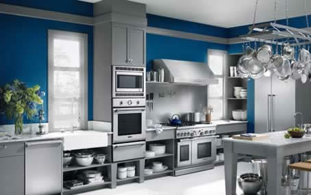 Professional Kitchen Appliances white