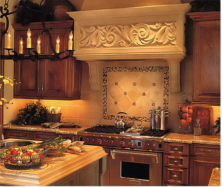 Natural Stone Backsplash Designs