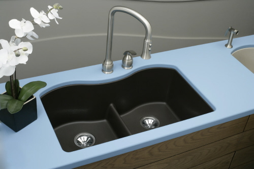 blue sky kitchen sinks design