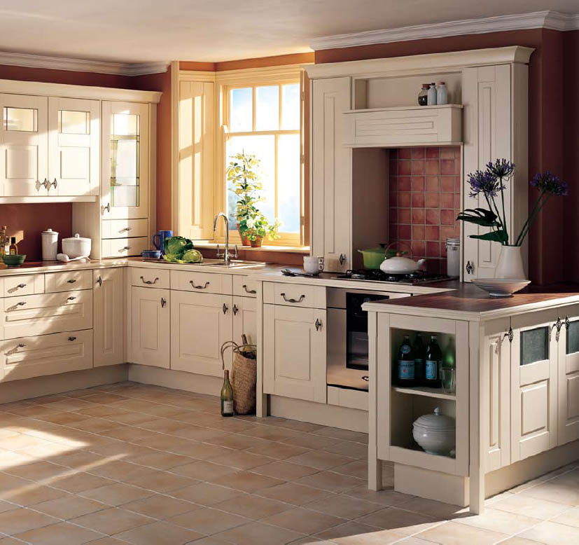 How to create country kitchen design ideas kitchen for Country kitchen designs