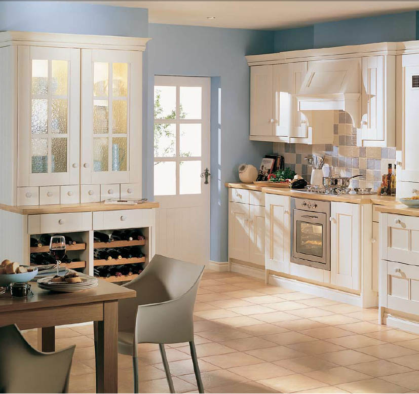 How to create country kitchen design ideas kitchen for Country kitchen paint ideas
