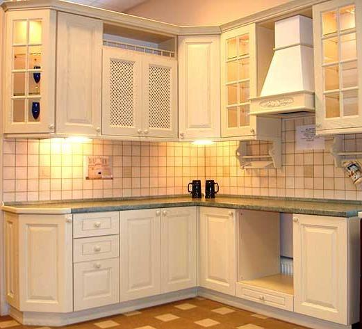 corner kitchen cabinet pics
