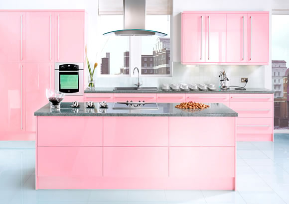 pink kitchen design ideas for girls