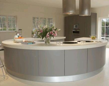 Round kitchen island for modern kitchen design ideas round kitchen island for modern kitchen Kitchen designs with islands modern