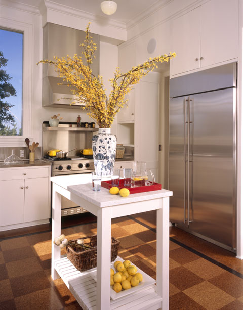 Small kitchen island designs design a room for Small kitchen island designs
