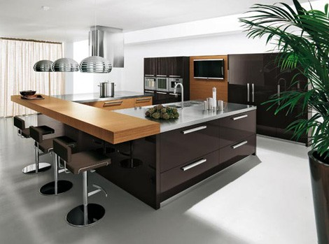 Modern Kitchens Pictures on Kitchen Design With Elegant And Modern Style From Copat   Kitchen