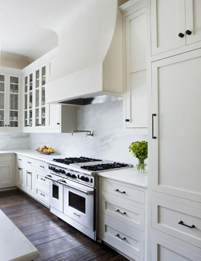 white kitchen cabinets larger