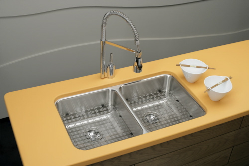 yellow kitchen sinks